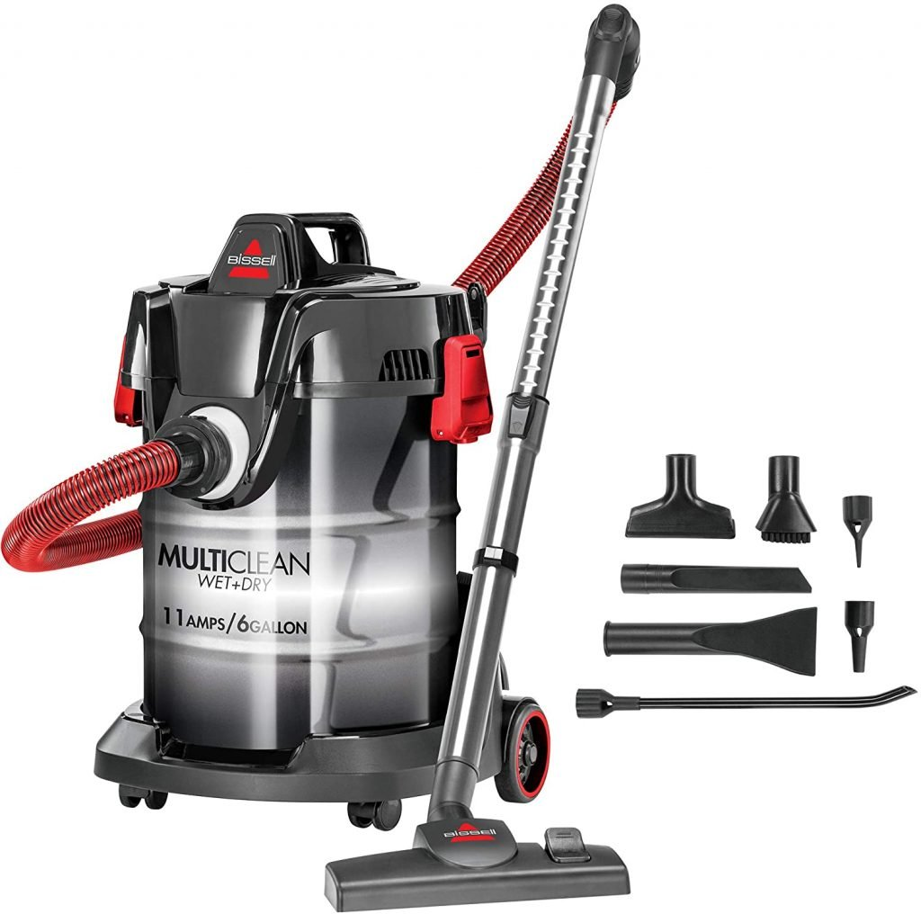 Bissell, Red, MultiClean WetDry Garage and Auto Vacuum Cleaner