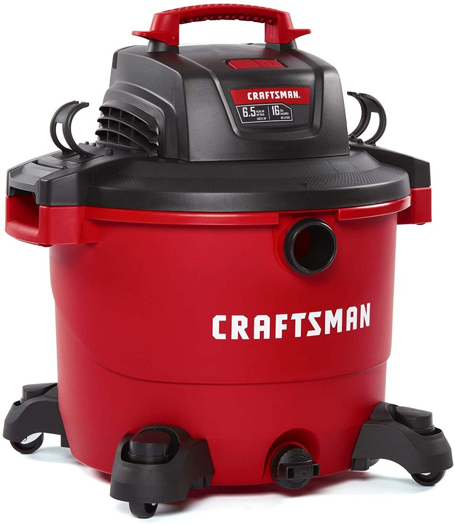 CRAFTSMAN CMXEVBE17595 16 Gallon 6.5 Peak HP WetDry Vac