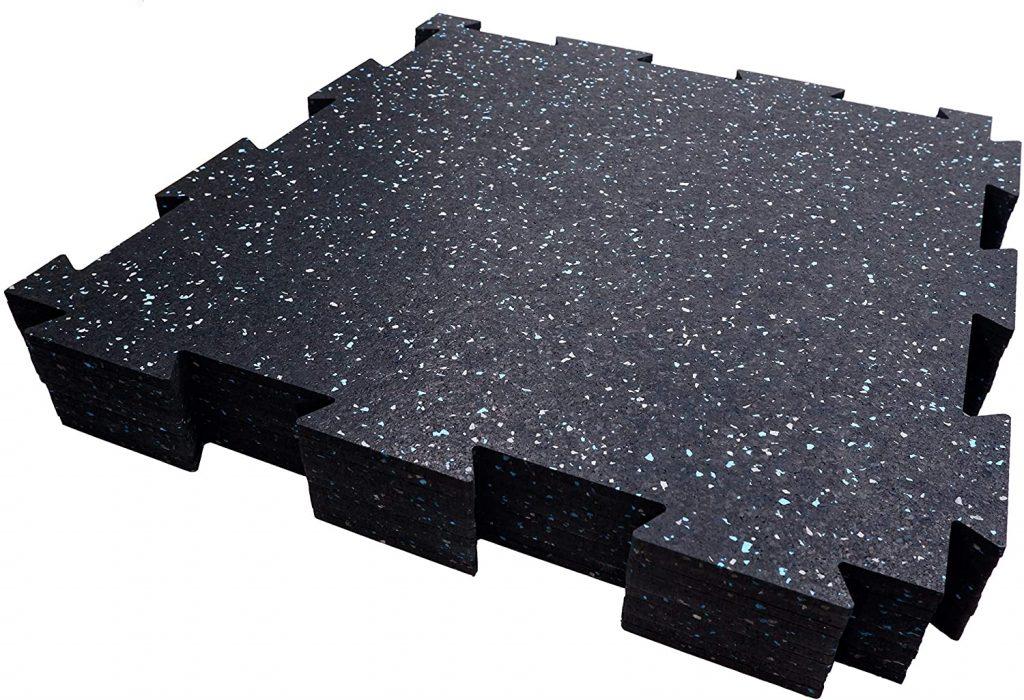 Dinoflex Rubber King Interlocking Tiles