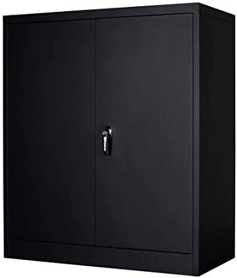 MENG 3 Shelf Metal Storage Cabinet