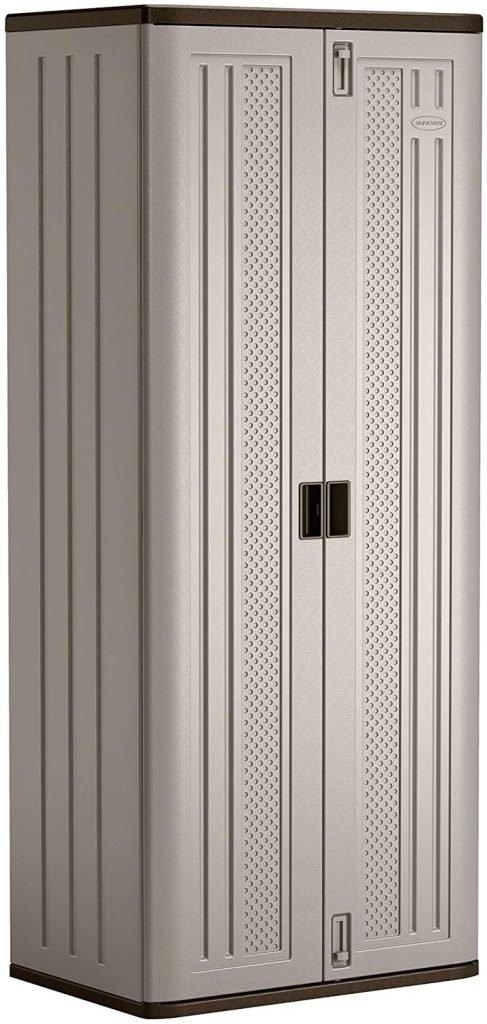Suncast 72 Resin Base Garage Storage Cabinet