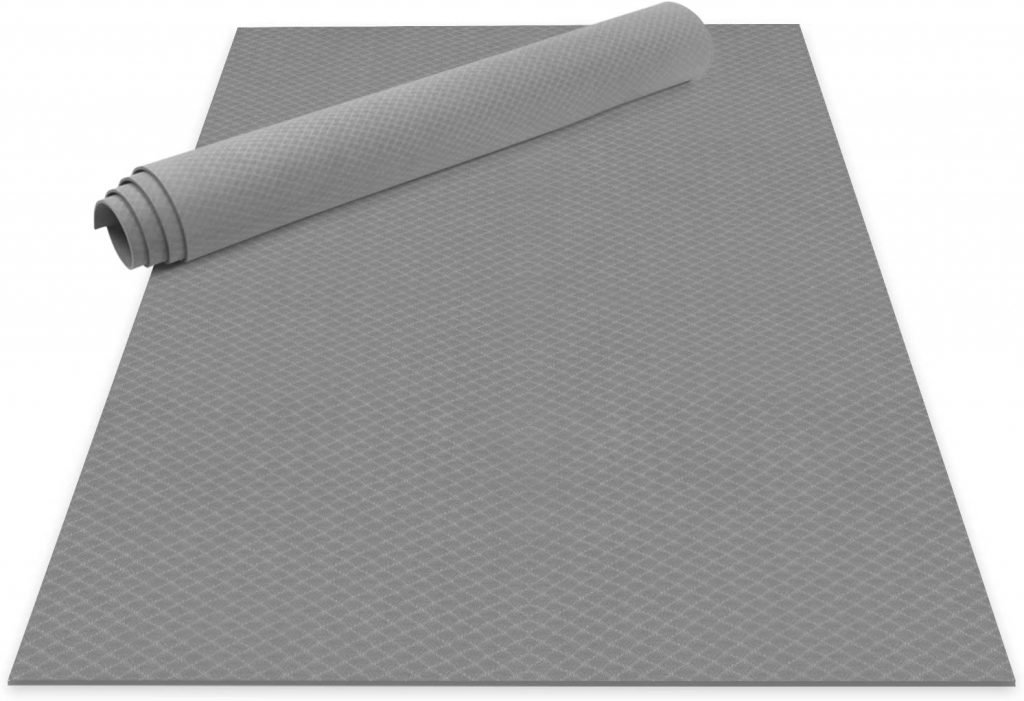 Odoland Large Yoga Mat for Pilates Stretching Home Gym Workout