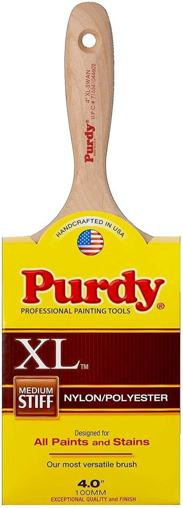 Purdy XL Series Swan EnamelWall Paint Brush, 4 inches