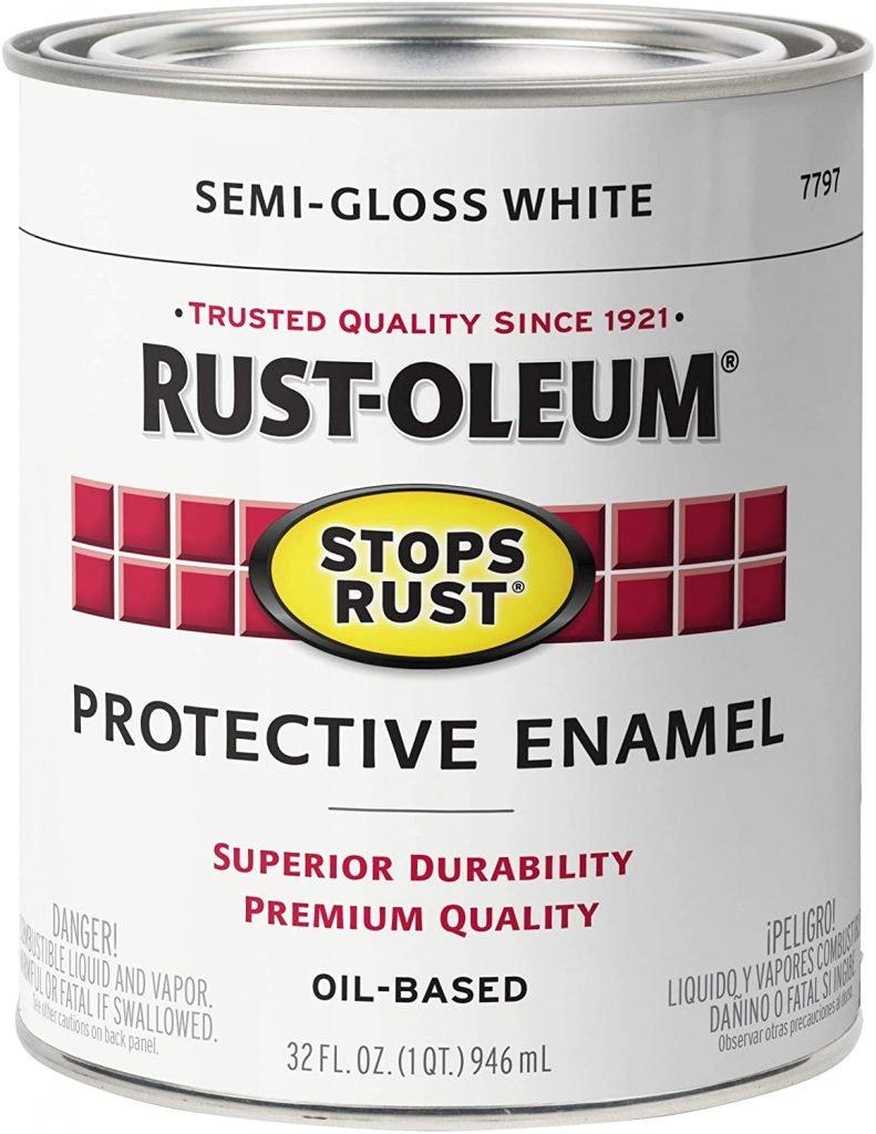 Rust-Oleum Stops Rust Brush On garage door Paint