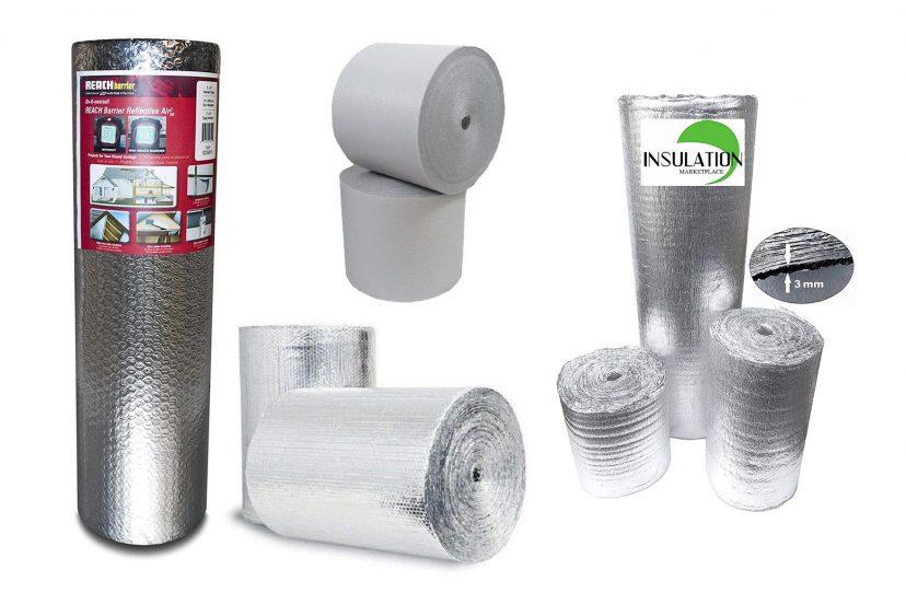 Garage door insulation kits