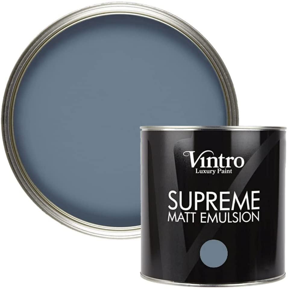 Vintro Paint Blue Matt Emulsion Wall & Ceiling Paint